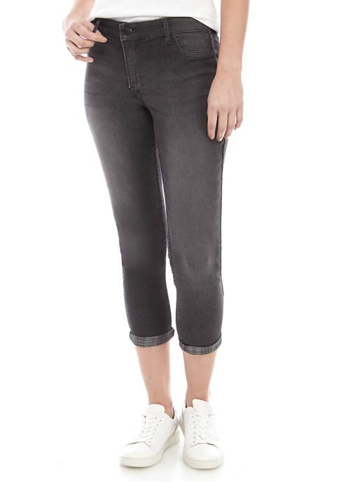 Vintage Reversible Skinny Ankle Jeans