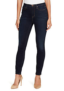 Petite High Rise Skinny Jeans
