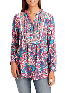 Alessandra Floral Smocked Top