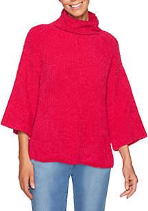 Beaujolais Petite Chenille Pullover Sweater