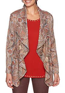 Petite Spice Market Tapestry Jacket