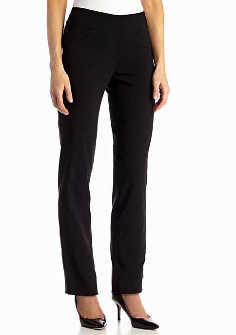 Ruby Rd Womens Air Pull-On Tech Stretch Pants