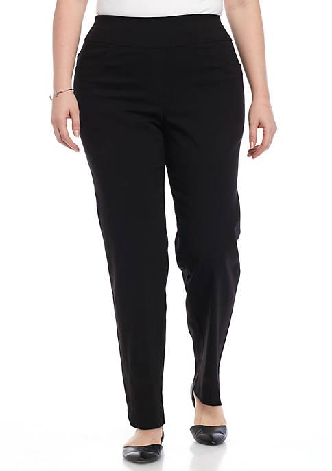 Plus Size Millennium Pull-On Pants