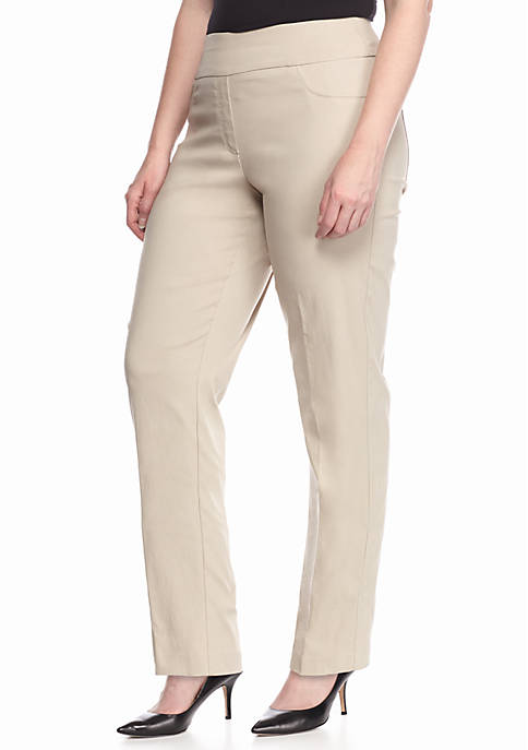 Ruby Rd Plus Size Millennium Pull On Pants