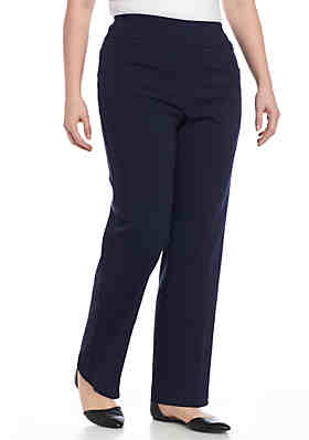 c32a0b0ce93a6 Ruby Rd Plus Size Air Pull-On Tech Stretch Pant ...