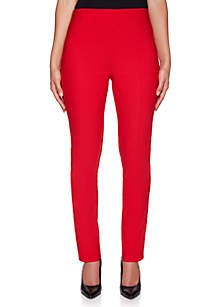 Petite Crush Pull-On Silk Pants