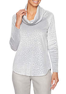 Shimmer and Shine Animal Pattern Pullover