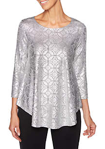 Shimmer and Shine Deco Foil Top