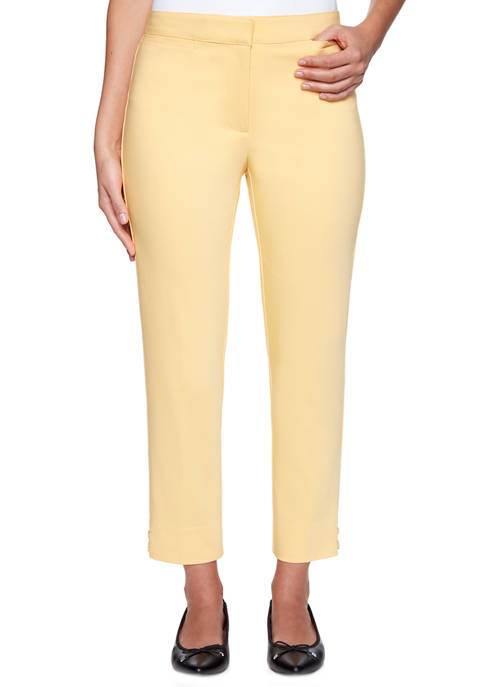 Womens Double Face Stretch Pants