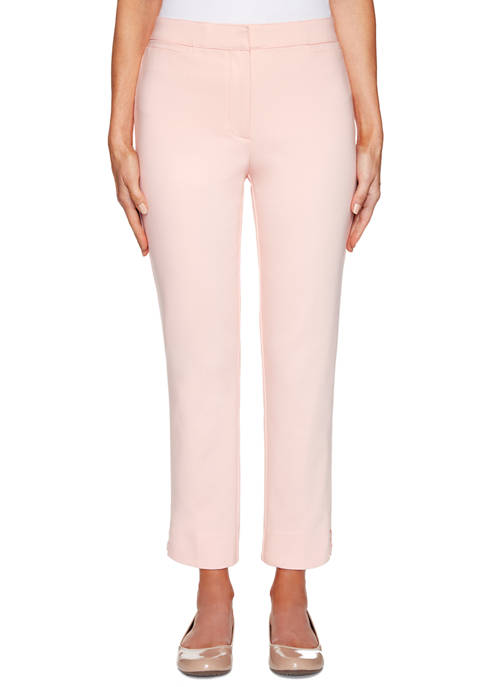 Ruby Rd Petite Double Stretch Ankle Pants