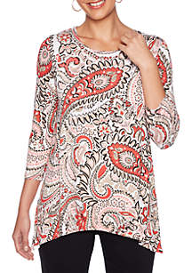 Sharkbite Jardin Paisley Top