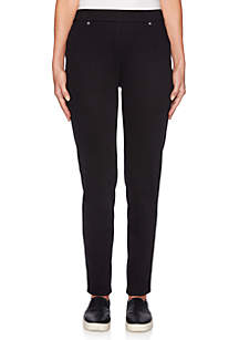 Ruby Rd In The Mix Pull-On Twill Pants