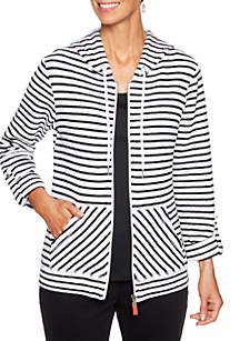 In The Mix Striped Jacket