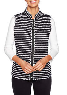 In The Mix Reversible Quilted Vest