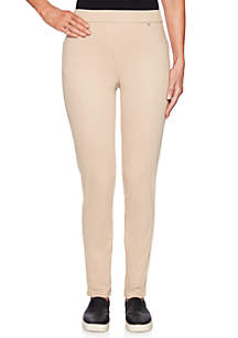 Petite In The Mix Pull-On Twill Pants