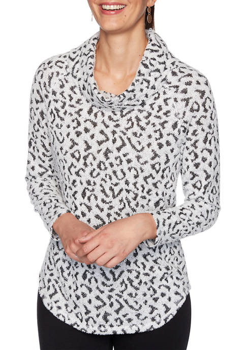 Ruby Rd Womens Must Haves I Cozy Leopard