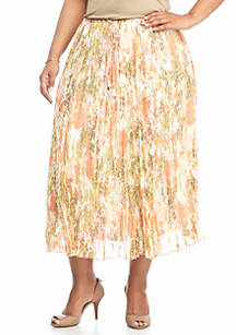 30364b2d3df Ruby Rd. Ruby Rd Plus Size Precious Cargo Broomstick Skirt
