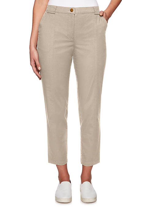 Ruby Rd Lush Life Ripstop Ankle Pants