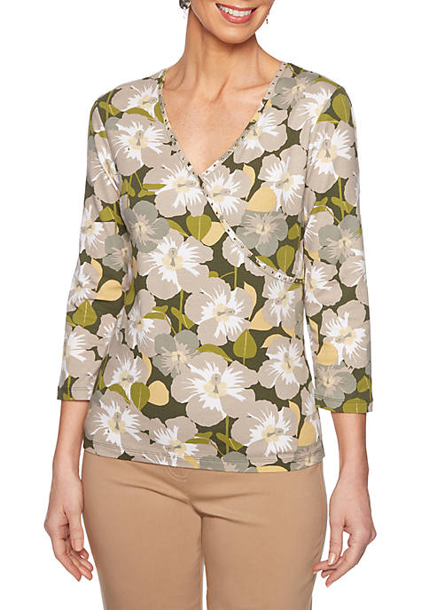 Ruby Rd Must Haves Island Blossom Top
