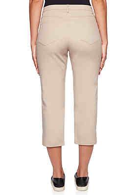 716bb741a98 ... Ruby Rd Make Me Blush Stretch Tech Capri Pants