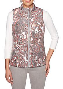 Must Haves Paisley Printed Reversible Vest