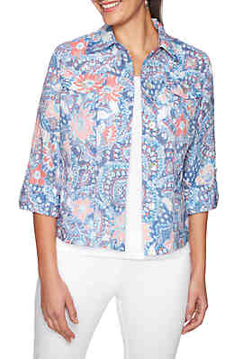 3397fcce43 Ruby Rd Key Item Burnout Jacket ...