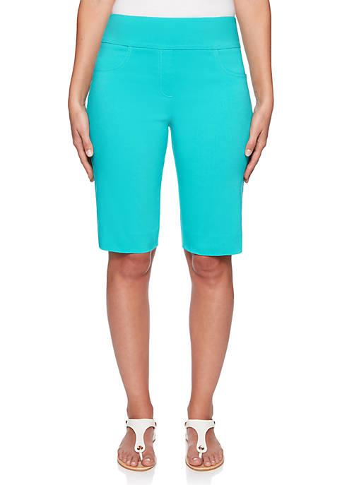 Ruby Rd Petite Key Items Pull On Shorts