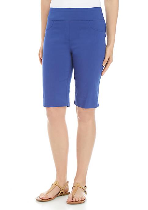 Petite Key Items Pull On Shorts