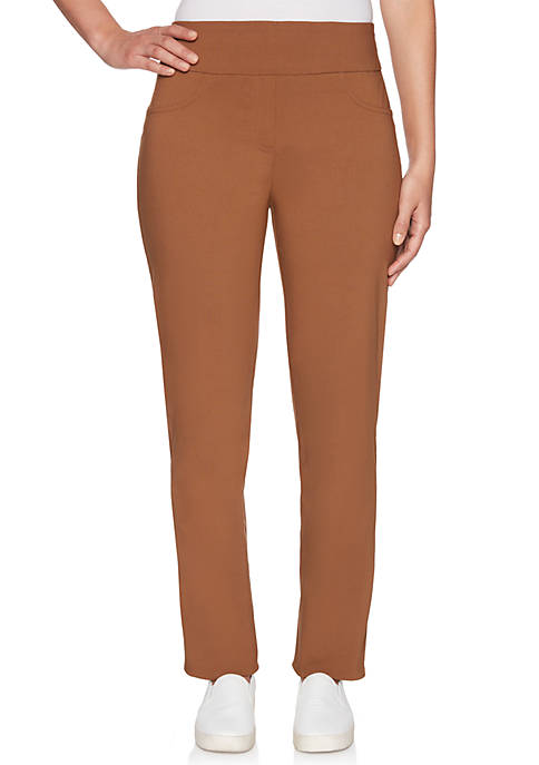Ruby Rd Petite Millennium Short Tech Pants