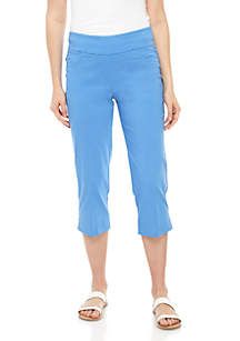 Ruby Rd Petite Pull On Capris