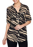 Womens Must Haves II 2020 Bold Zebra Striped Tunic