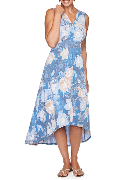 Petite Must Haves III 2020 Floral Print High Low Dress