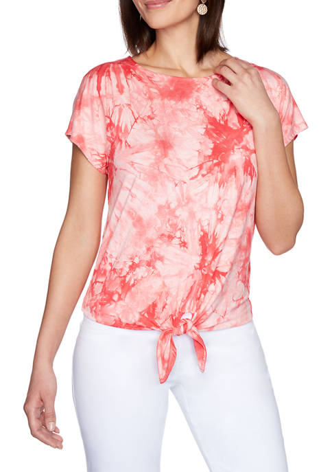 Ruby Rd Petite Must Haves II Tie Dye