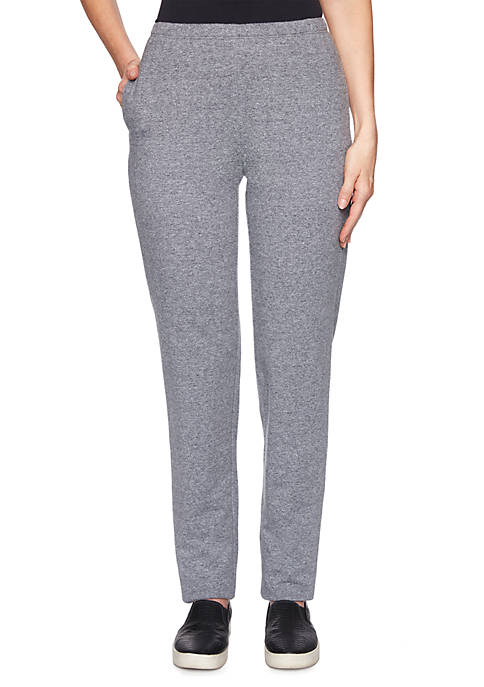 Petite French Terry Pants