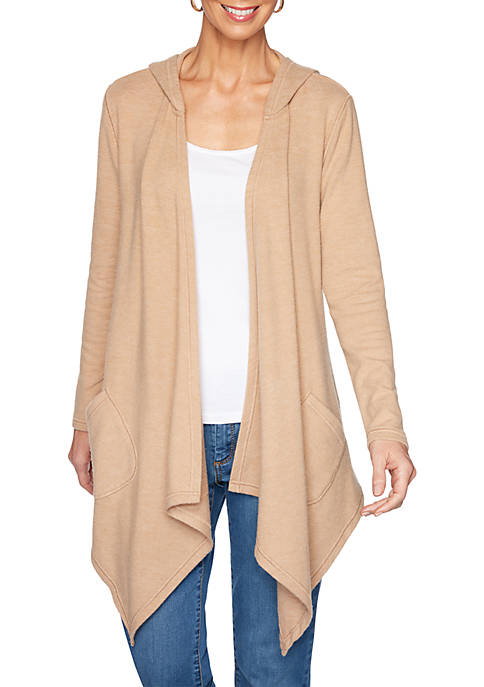Petite Soft and Cozy Knit Cardigan