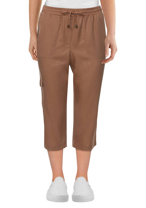 Ruby Rd Womens Exotic Escape Lightweight Stretchy Pull-On