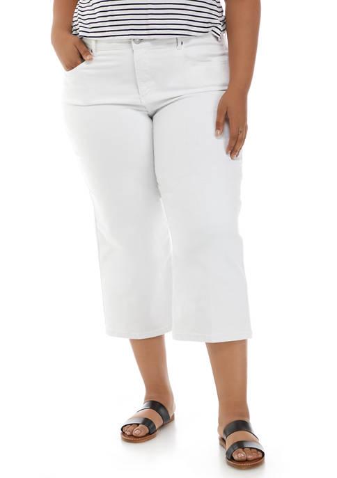 Ruby Rd Plus Size Key Items Wide Leg