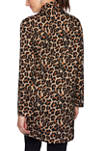 Petite Autumn Glow Leopard Print Jacket
