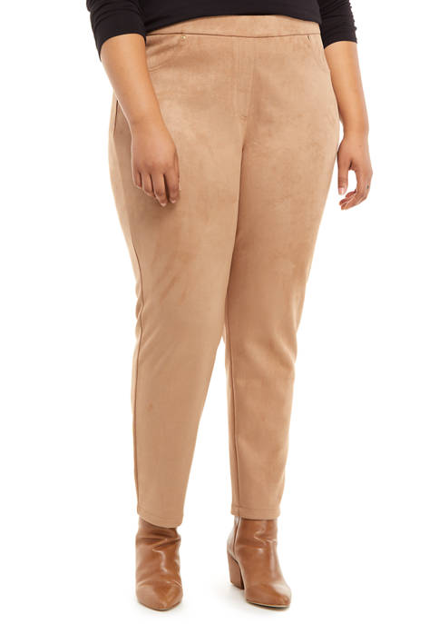 Ruby Rd Plus Size Act Natural Pull On