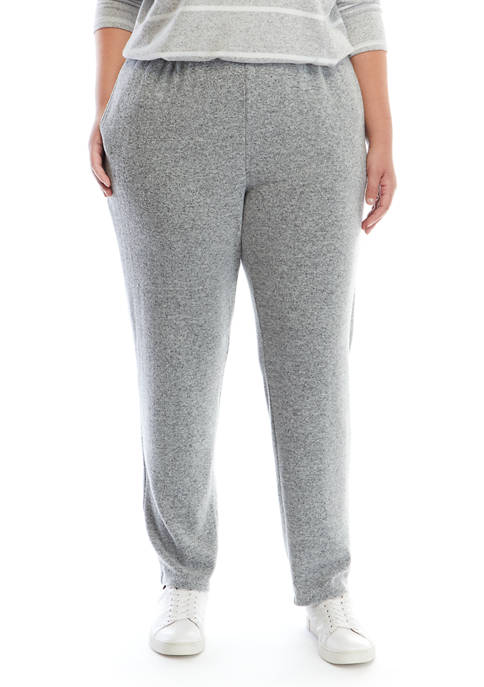 Plus Size Cozy Up Pull On Pants
