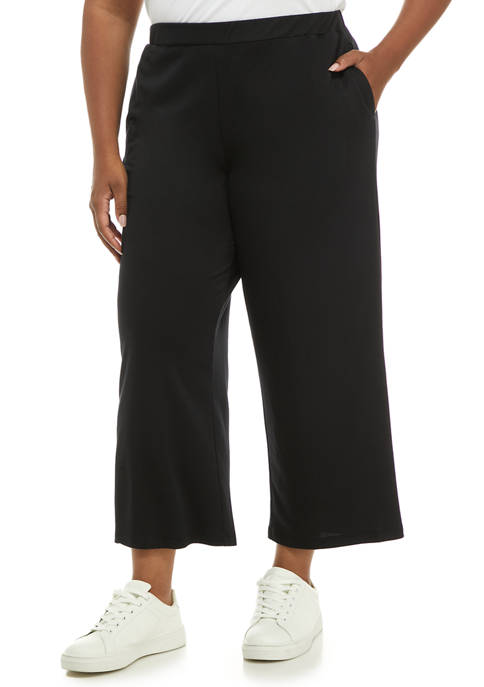 Ruby Rd Plus Size Comfort Zone Baby Terry