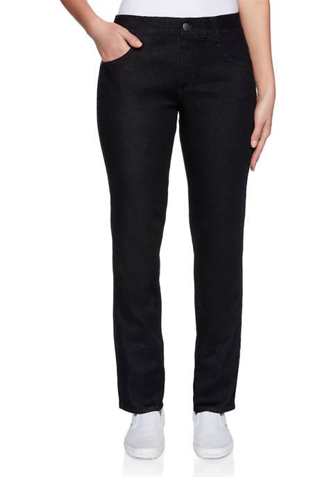 Ruby Rd Womens Regular Length Denim Pants