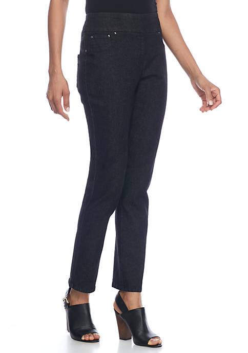 Womens Key Items Denim Pants