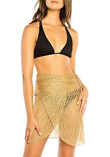 Wrap Pareo Cover Up Swim Skirt
