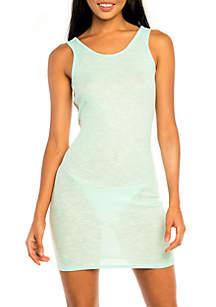 Twist Back Tank Cover Up Dress