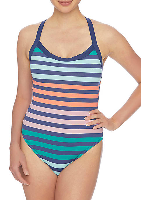 Next Stripe Impact Plank One Piece Swimsuit