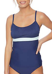 Next Bloc Party Swimsuit Tankini Swim Top