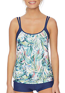 Next Jungle Love Double Up Swimsuit Tankini Top