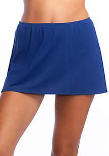 24th and Ocean Mid Waist Swim Skirt