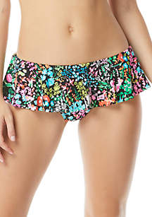 Coco Rave Ruffle Swim Skirt